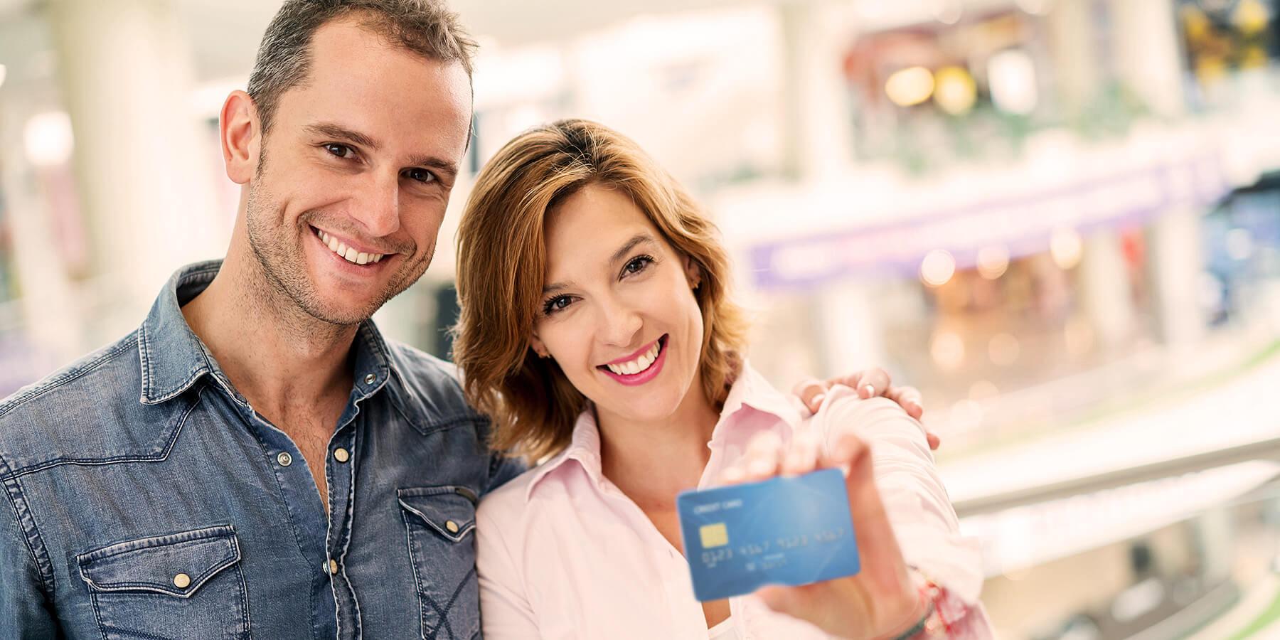 Kreditkarte mit Extras